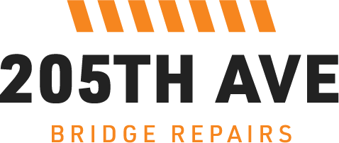 205th bridge repair project logo