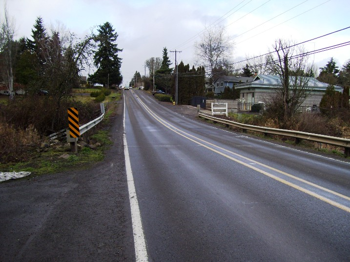 209th at Butternut Ck Culvert Looking North