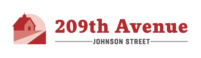 209th Avenue and Johnson Street logo