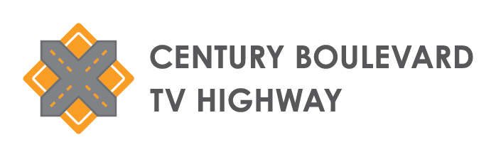 Century Blvd/TV Highway logo