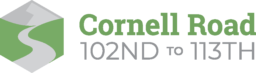 Cornell Road 102nd to 113th logo