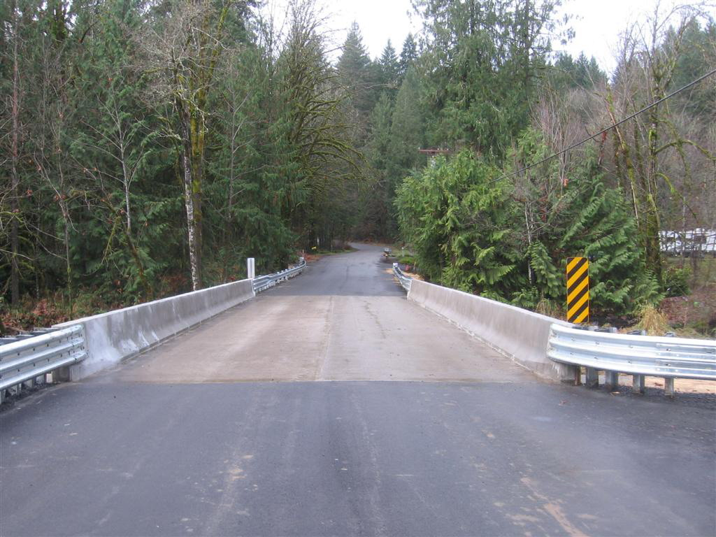 Meacham Bridge - Post Construction