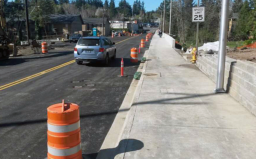 OlesonRoad at Fanno Creek Reopened
