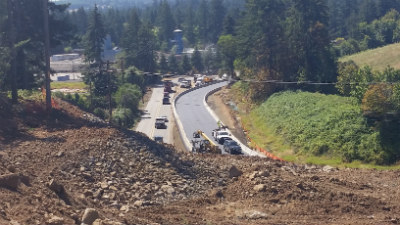 124th paving tonquin detour