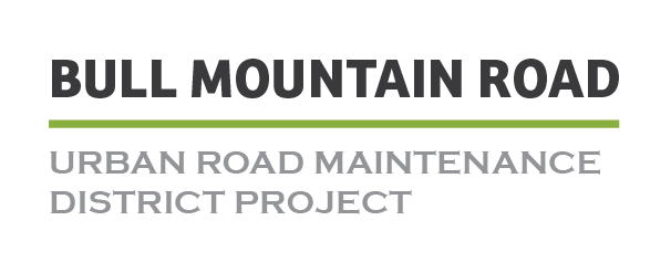 Bull Mountain Road Pedestrian Improvement