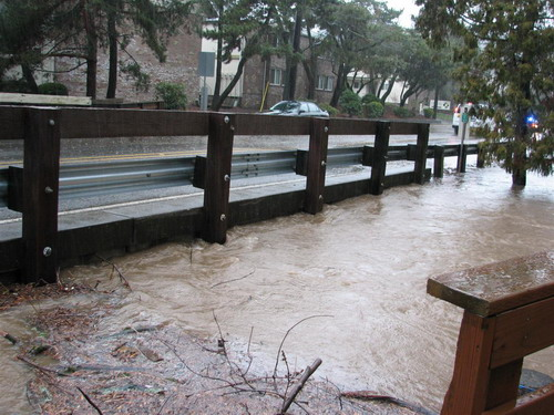 Oleson Road at Fanno Creek flooding (Nov 2011)