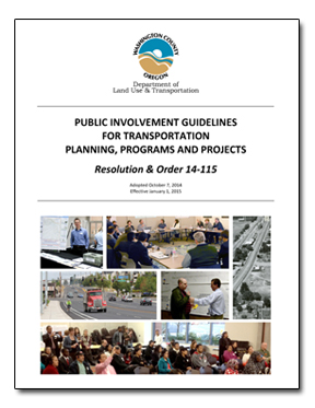 Public Involvement Guidelines Cover