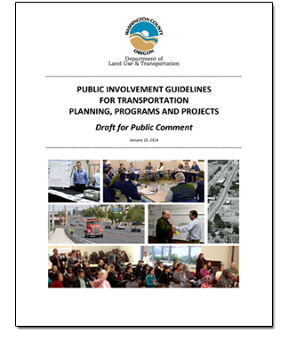 Public Involvement Guide Cover