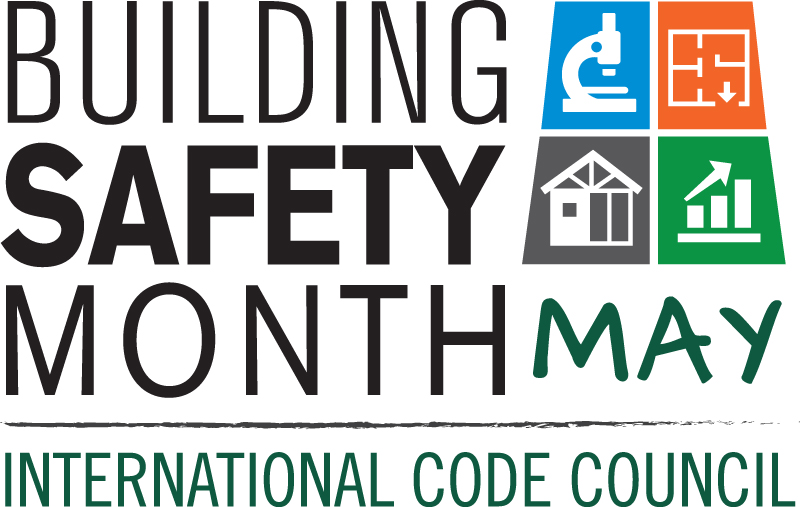 Building Safety Month logo 2016