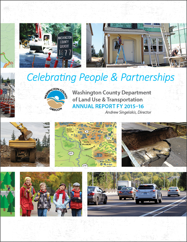 Washington County Department of Land Use & Transportation Annual Report FY 2015-16