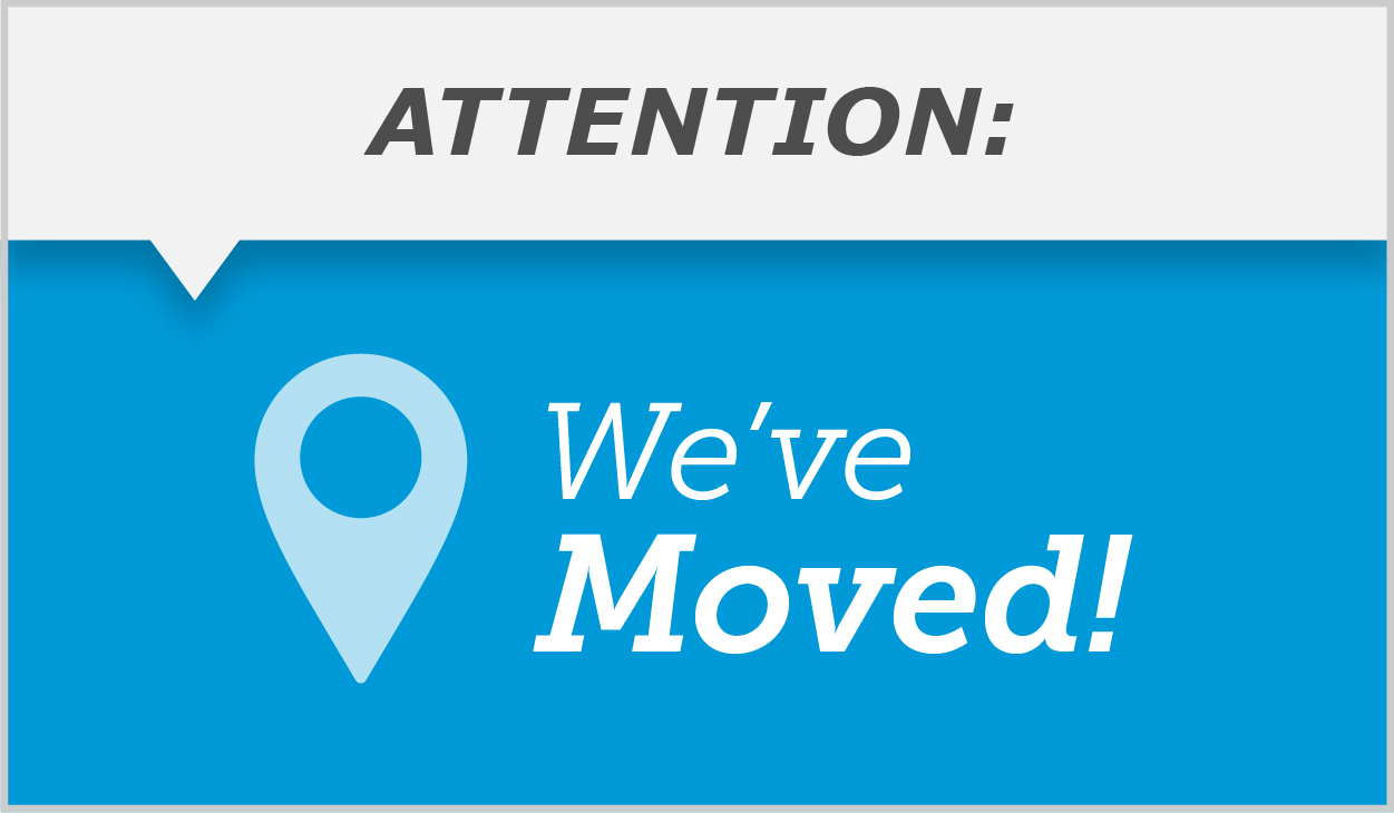 We've Moved image