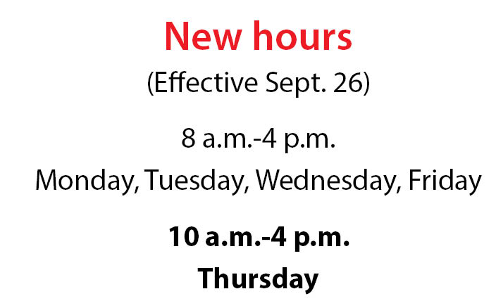 New Hours PDS