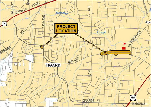 100187 Walnut St Project Vicinity Map