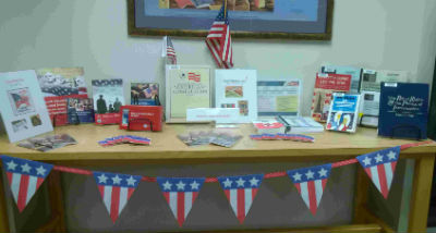 Constitution Day display at Washington County Law Library