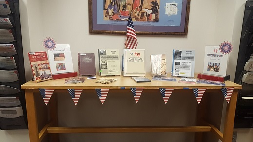 Display for Constitution Day 2017.