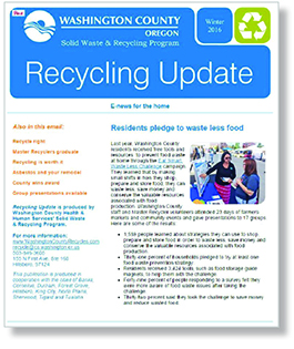 Winter 2016 Recycling Update thumbnail