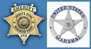 Fugitive Task Force - Sheriff's Star and US Marshal's Star