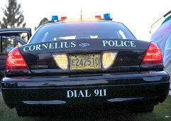 Patrol Car with Call 9-1-1