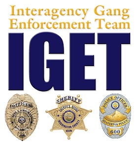 Interagency Gang Enforcement Team logo