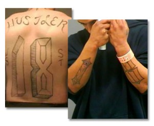 Westside 18th Street tattoos