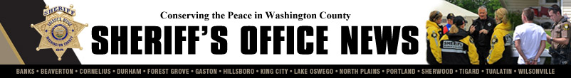Sheriff's Office News Masthead