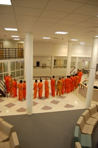 Pod with Inmates
