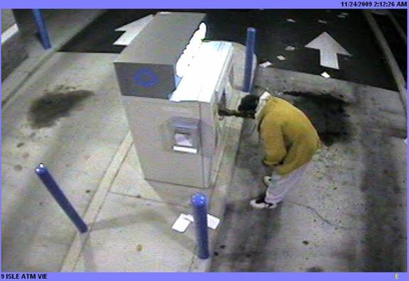 Suspect uses stolen ATM card