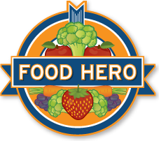 Food Hero, an online resource for people who want to eat healthy meals. For beginners to cooking pros, recipes, tools and tips for everyone.