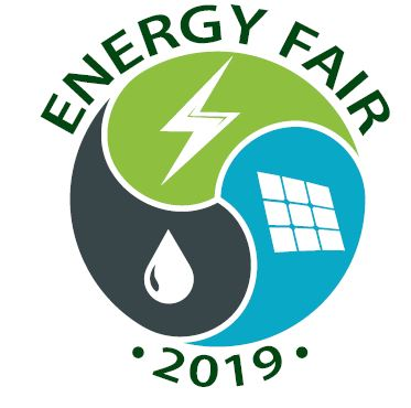 This is the 2019 Energy Fair logo.