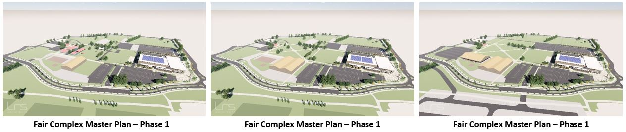 Fair Complex Master Plan 3 Phases horizontal