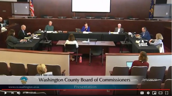 Board of Commissioners Adopts Emergency Declaration 5/5/2020