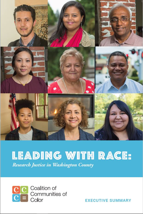 Coalition of Communities of Color report on WC