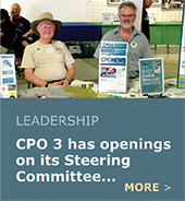 CPO 3 has leadership openings: Chair, Vice Chair, Secretary