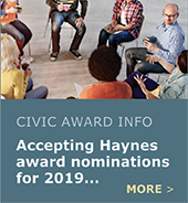 Now accepting nominations for 2019 award!