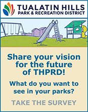 Take the THPRD Community Visioning Survey!