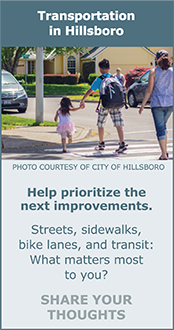 Transportation in Hillsboro: What matters most to you?