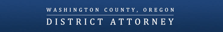 Washington County DA Banner