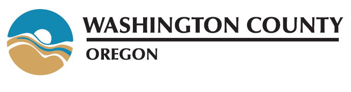 Washington County Oregon logo - horizontal